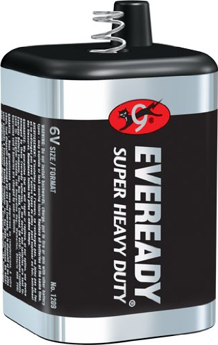 6 Volt Lantern Battery 1209, ship from USA,Brand Eveready by