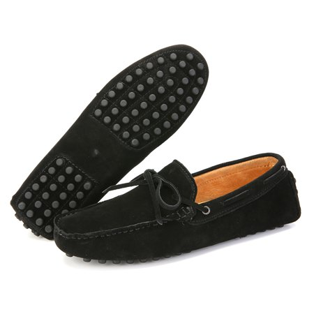 Meigar Men's Loafers Driving Moccasins Soft Suede Leather Penny Flats Casual Shoes - image 5 de 8