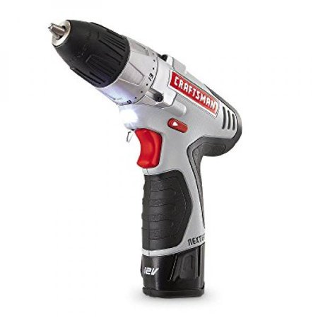 - craftsman n17586 nextec 12.0v lithium-ion drill/driver kit with ergonomic handle and energy star qualified