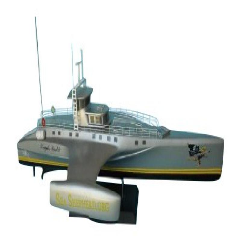 "Hampton Nautical Whale Wars Bridgette Bardot Famous Ships, Limited Edition, 14"" by"