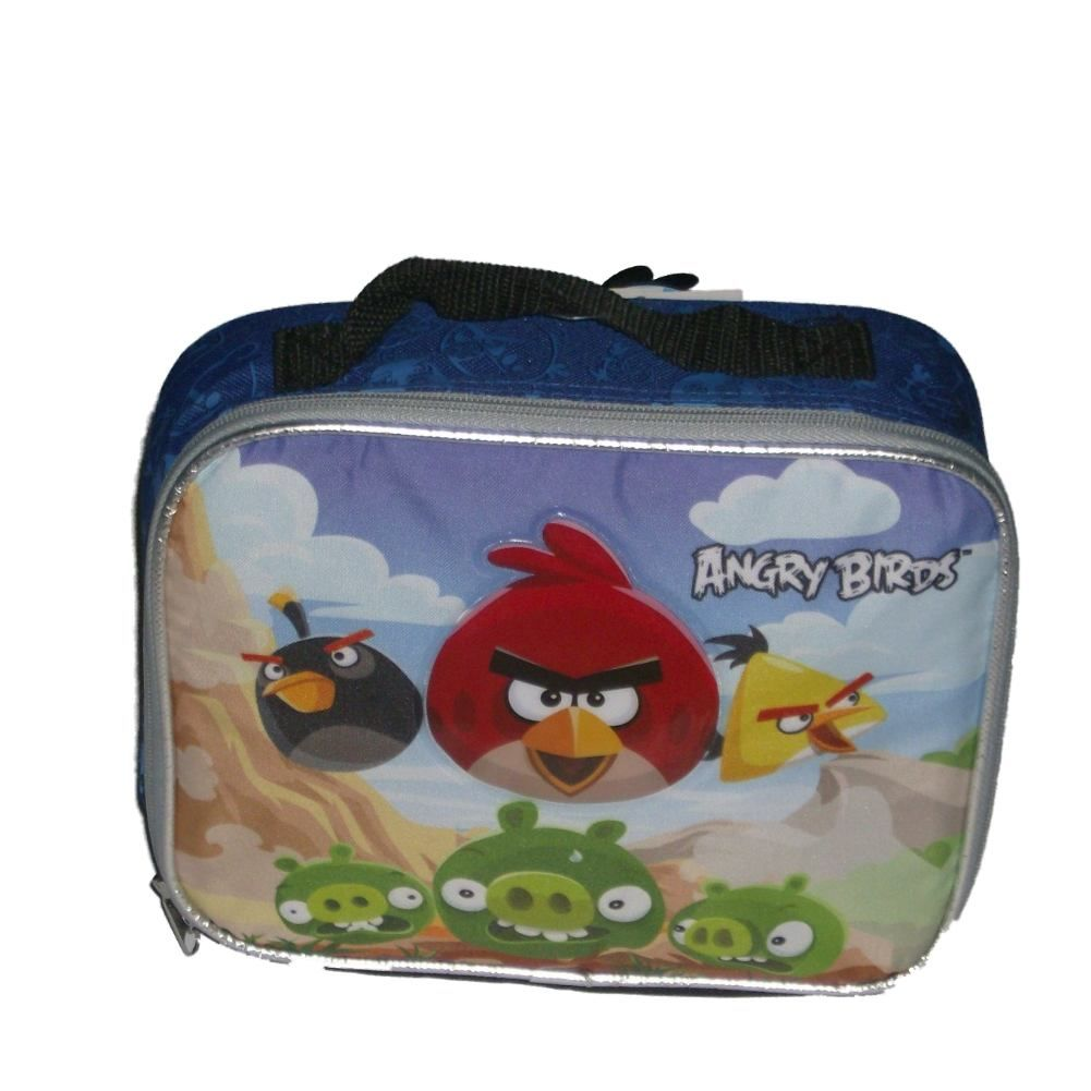 Rovio Angry Birds Space Soft Lunch Box Insulated Bag Birds & Pigs Lunchbox