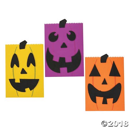 Halloween Treat Bag Craft Kit(pack of 1) - Easy Halloween Crafts And Treats