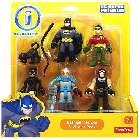Batman Heroes & Villains DC Super Friends Imaginext Figures 2.5
