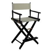 Extra-Wide Black Frame Directors Chair