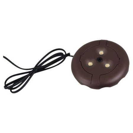 Sea Gull Lighting 98860SW Led Disks 3u0022 Wide Under Cabinet Puck And Button Light