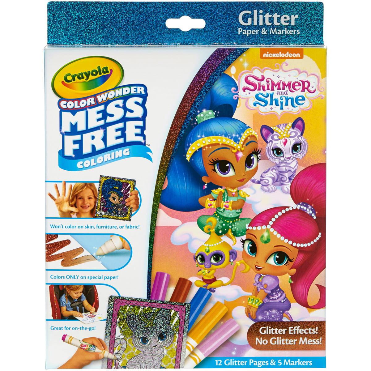 Crayola Color Wonder Glitter Set - Shimmer & Shine