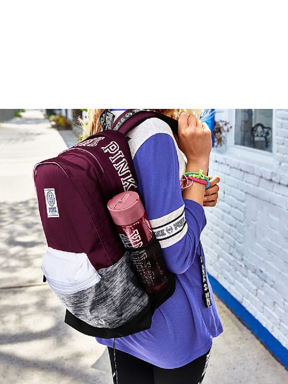 96e2dbbe1fa Victoria s Secret Pink Campus Backpack - Walmart.com