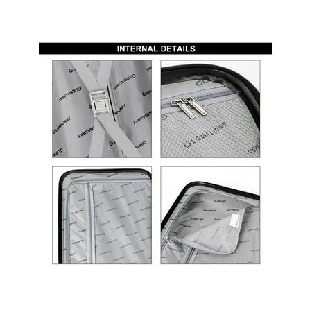 "Costway 3Pc Luggage Set 20"" 24"" 28"" Travel Trolley Suitcase w/TSA Lock Spinner - image 1 of 10"