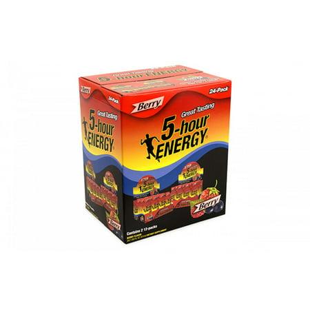 Image of 5 Hour Energy Berry, 1.93 oz, 2 12-Packs