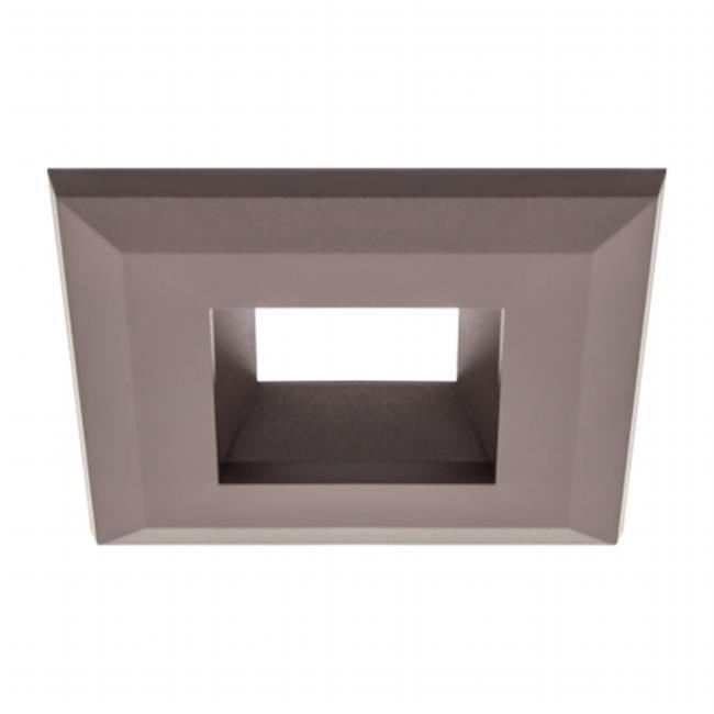 American Lighting Q4-WH Snap-On Square Trim for E4 Smooth Retrofits, White - image 1 de 1