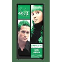 Splat Neon Green Hair Color Kit, Semi Permanent Green Hair Dye