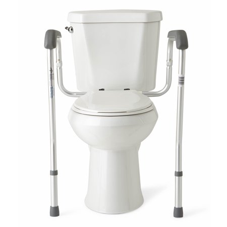 Medline Height Adjustable Toilet Safety Rails