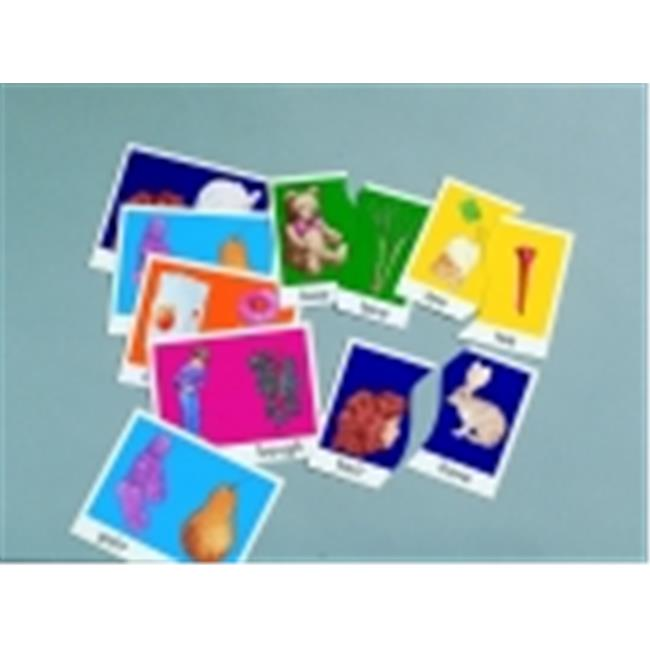 Didax Sound Alike Homophone Matching Puzzle Card Set