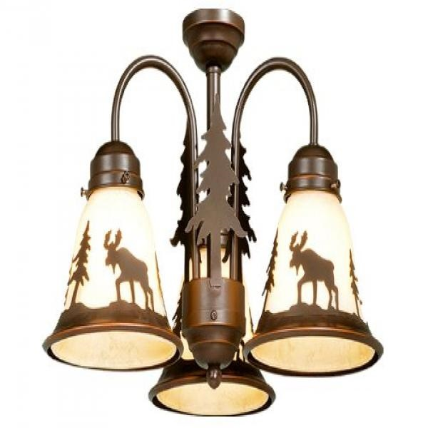 Vaxcel LK55616BBZ-C Yellowstone 3L Light Kit, Burnished Bronze, Brown
