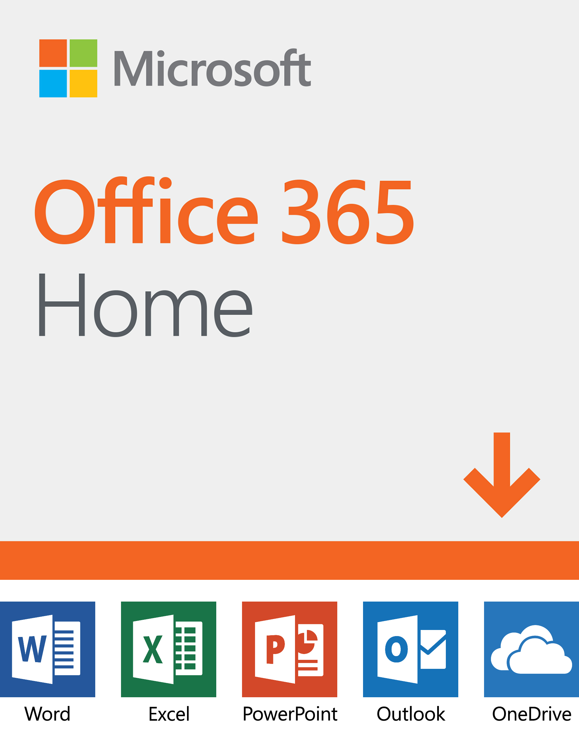 Microsoft office 365 home Card Microsoft Office 365 Home 12month Subscription Up To People Pcmac Download Walmartcom Walmart Microsoft Office 365 Home 12month Subscription Up To People