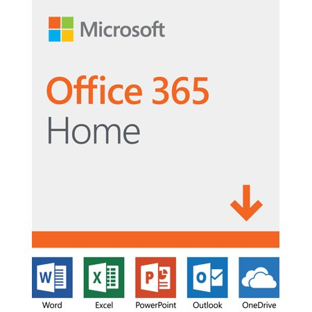 Microsoft Office 365 Home | 12-month subscription, up to 6 people, PC/Mac