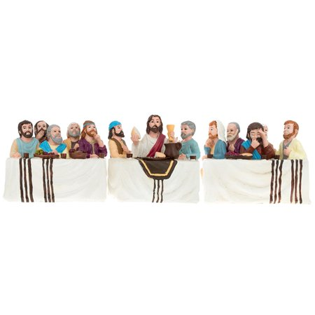 Set of 3 The Last Supper Figurines