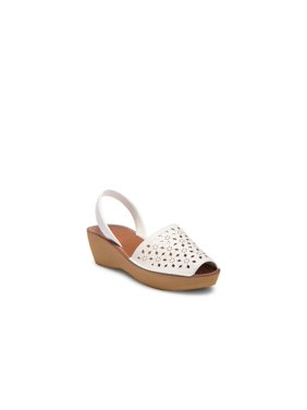 Kenneth Cole Reaction Womens Fine Glass 5 Cut-Out Wedges