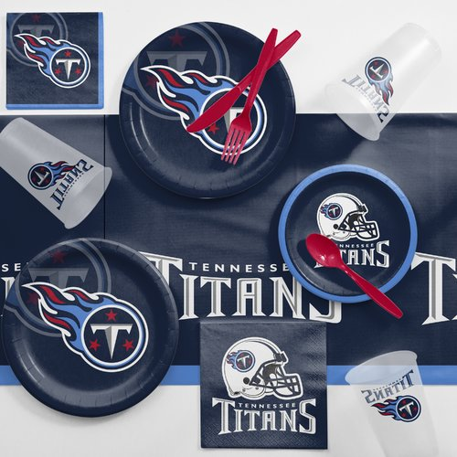 Tennessee Titans Game Day Party Supplies Kit
