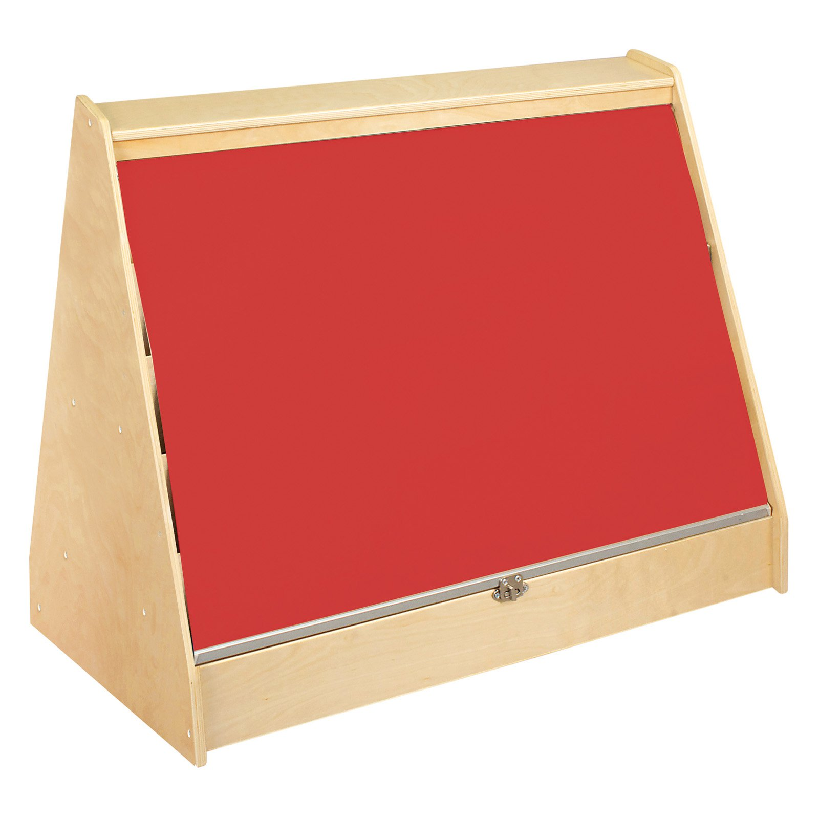 Guidecraft Hideaway Double Sided Book Browser - Red