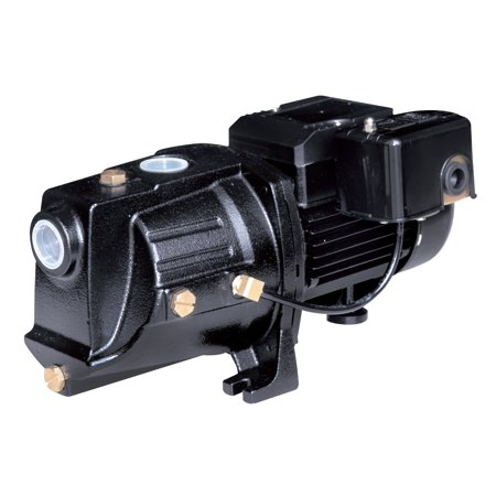 Deep Well Jet Package - Acquaer 3/4  Dual-Voltage Cast iron Shallow well Jet pump