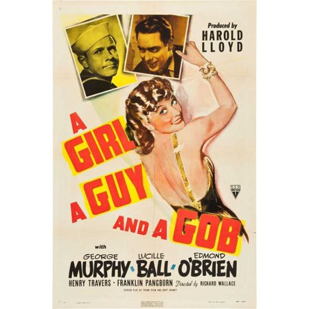 A Girl a Guy and a Gob Movie Poster Print (27 x - Two Guys And A Girl Halloween Special