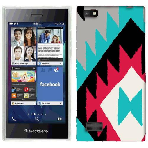 Mundaze Navajo Tribal Phone Case Cover for BlackBerry Leap