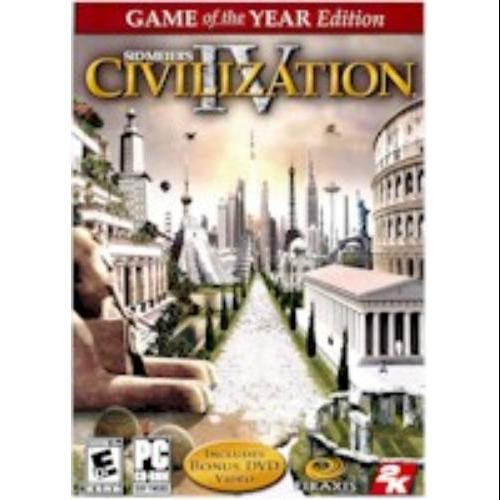 Taketwo Interactive Civilization Iv - Game Of The Year [windows Xp/vista]