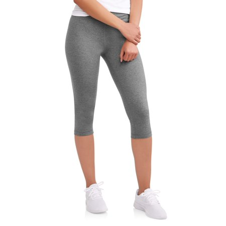 Athletic Works Women's Dri More Capri Core (Danskin Now Womens Performance Capris With Mesh Detail)