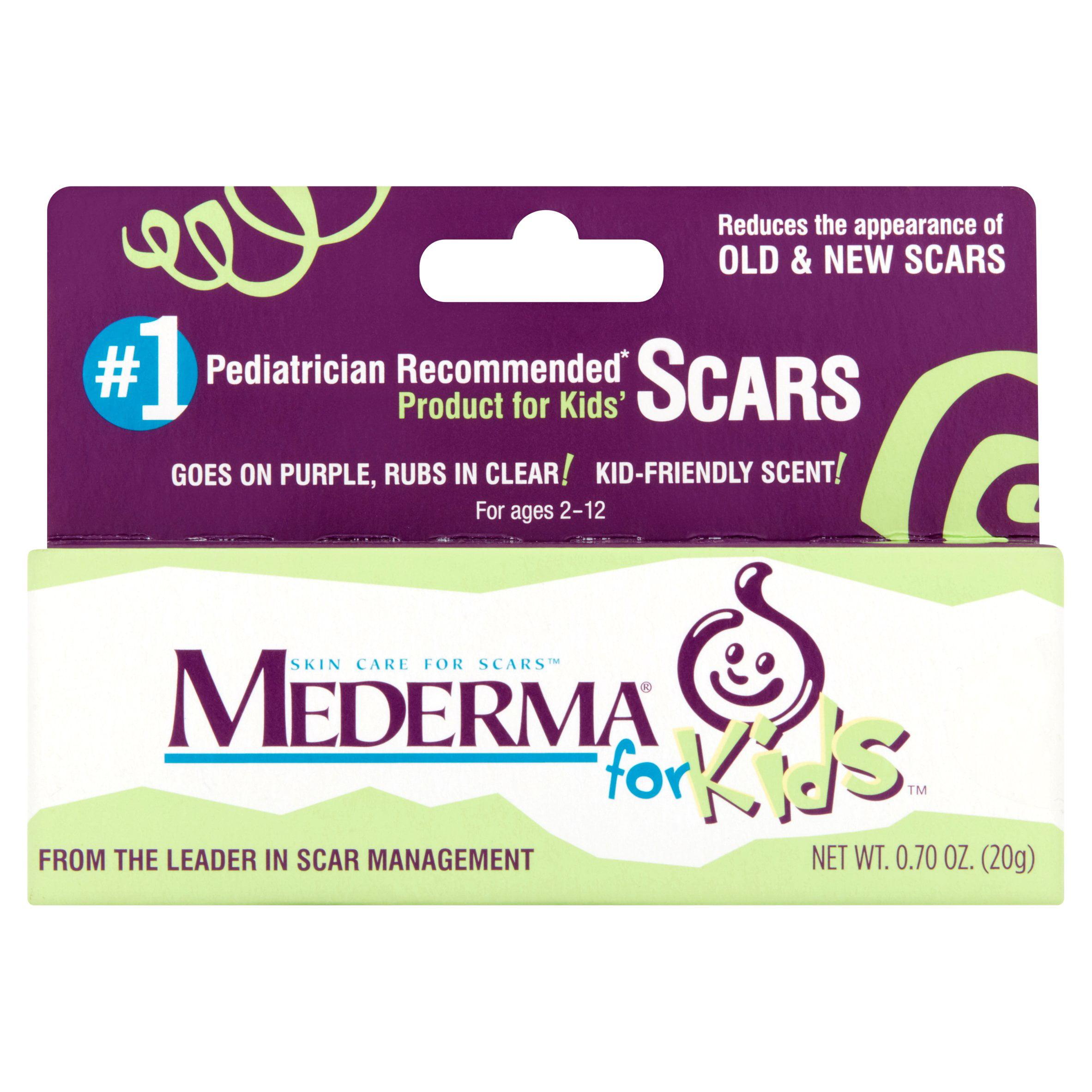 Mederma For Kids Skin Care For Scars For Ages 2 12 0 70 Oz Walmart Com Walmart Com