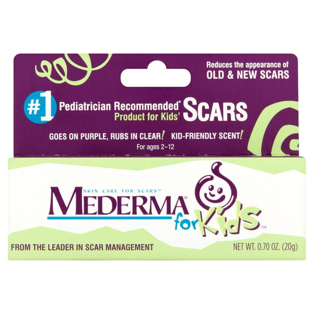 Mederma For Kids Skin Care For Scars For Ages 2 12 0 70 Oz