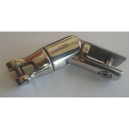 Anchor Connector - AISI 316 Stainless Steel 3 piece Boat Marine Anchor Swivel Connector 3/8