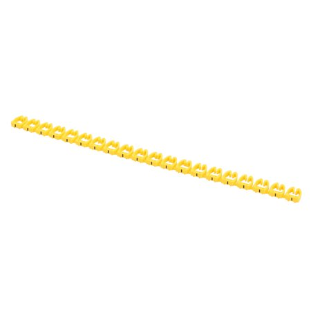 20 Pcs Letters - Network Cable Labels Markers Yellow for 6.0-10.0mm Dia Wire - image 4 of 4