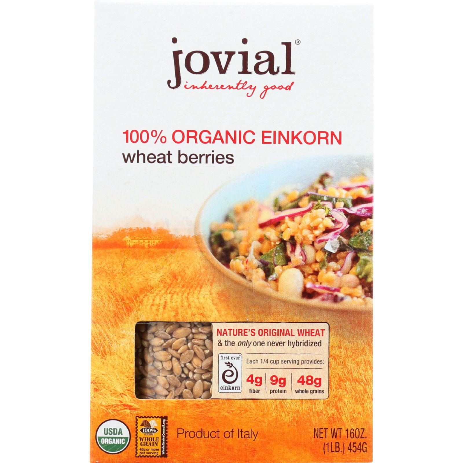 Jovial Wheat Berries - Organic - Einkorn - 16 oz - Pack o...