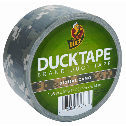 Duck Tape. Color Camouflage 1.88 inches x 10 yards