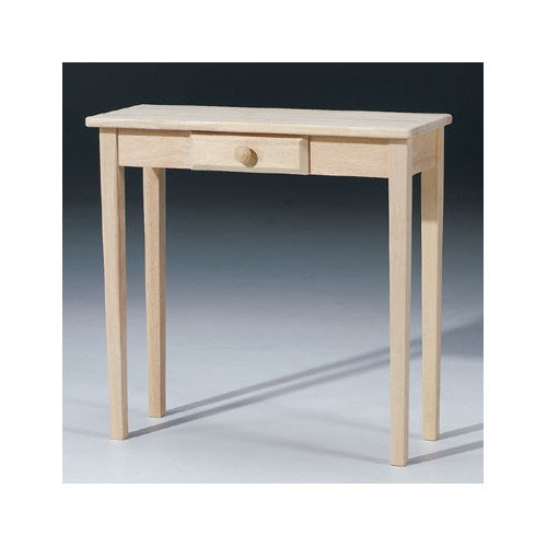 International Concepts Rectangular Hall Console Table