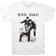 Run DMC Men's  Sketch T-shirt White