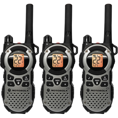Motorola MT352TPR - 35 Mile Range Talkabout 2-Way Radios, 3-PACK