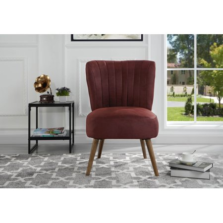 Tradtional Living Room Accent Chair, Red ()