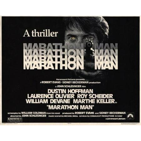 Marathon Man POSTER Movie B Mini Promo - Halloween Movie Marathon 2017