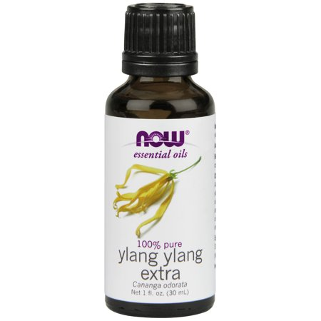 NOW Essential Oils, Ylang Ylang Extra Oil, Comforting Aromatherapy Scent, Steam Distilled, 100% Pure, Vegan,