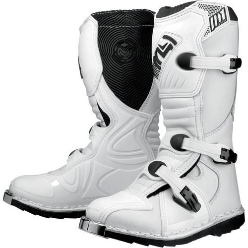 Moose Racing M1.2 2014 Youth MX/Offroad Boots White