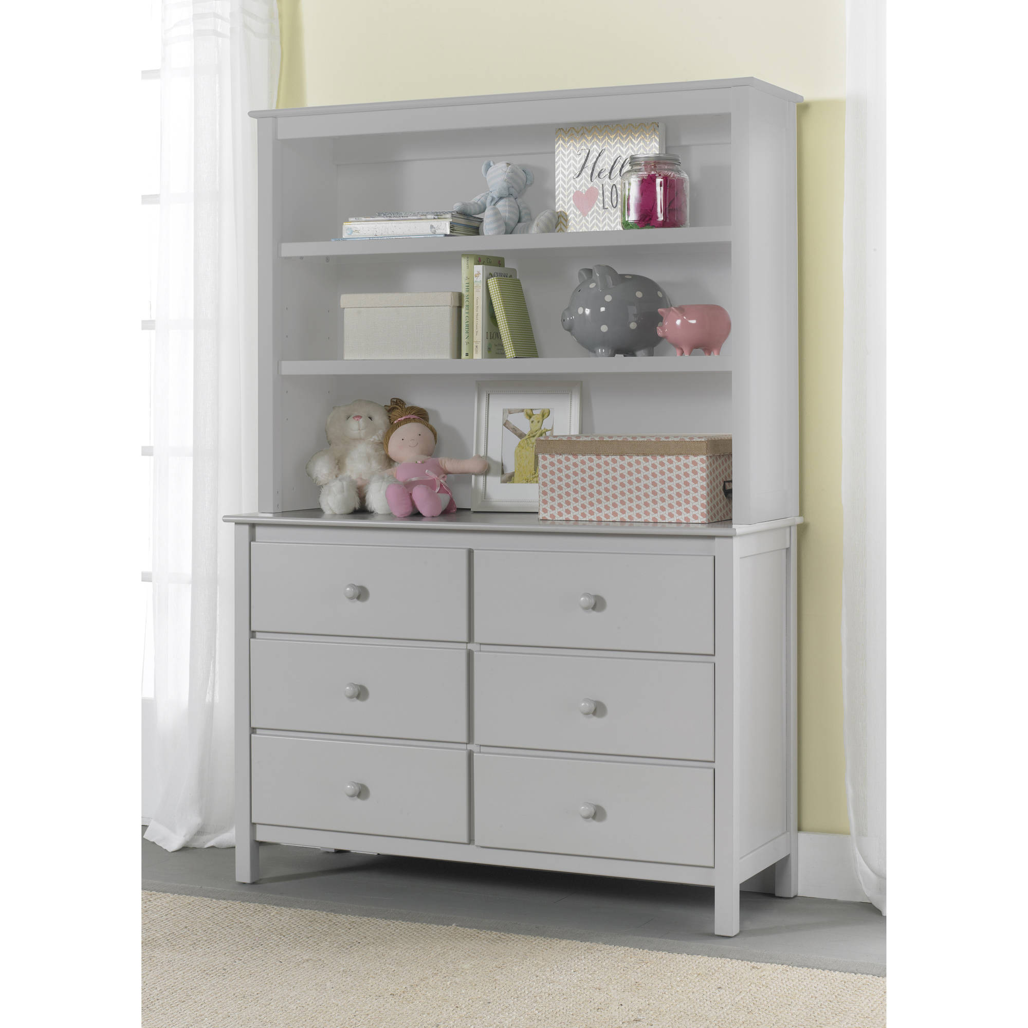 Fisher-Price Hutch/Bookcase, (Choose your Finish)