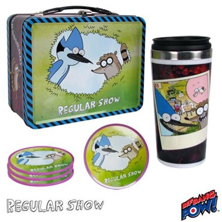 - Regular Show Tin Tote Gift Set - Convention Exclusive (Number of Pieces per case: 4)