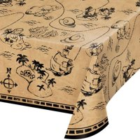 Pirate Treasure Party Printed Plastic Tablecover (1 ct)
