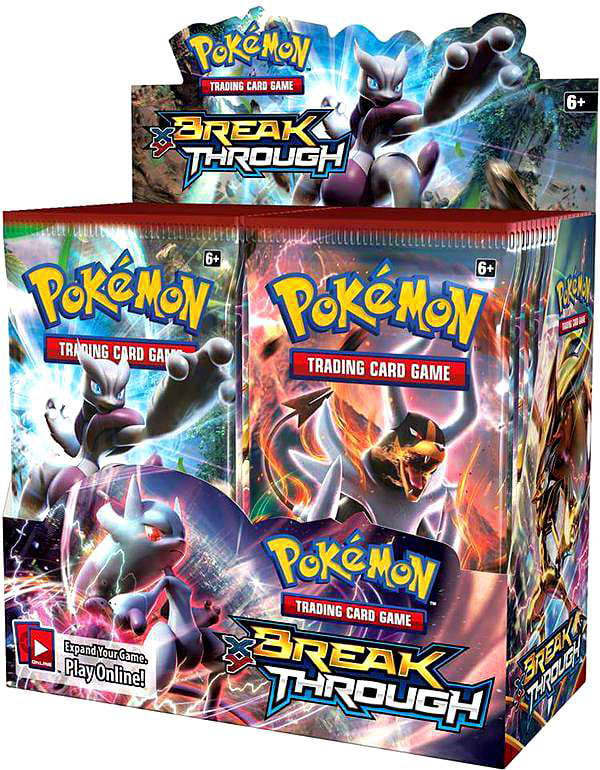 Pokemon XY8 Breakthrough Booster Box! TCG English Card Game by Pok?mon