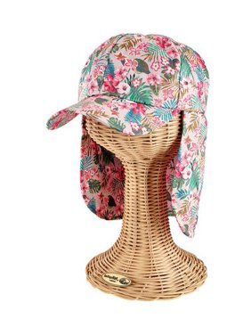 Infant San Diego Hat Company All Over Print Cap with Neck Cover CTK4195