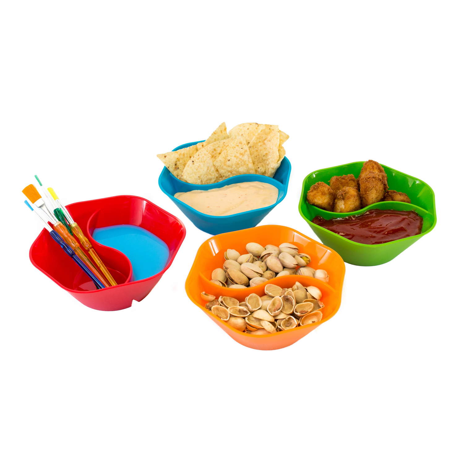 The Double Dipper, Set of 4