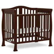 Best Mini Cribs - Dream On Me Naples 4-In-1 Convertible Mini Crib-Finish:Espresso Review