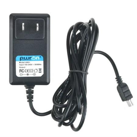PwrON 6.6 FT Long 5V Mini USB AC to DC Power Adapter Charger For HMX-F80 HMX-F90 HMX-H300 HMX-Q10 SMX-F40 SMX-F50 SP BP BN LN RN Camcorder